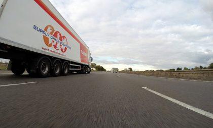 Da stanotte sull'A1 controlli sui mezzi pesanti al Casello di Melegnano in direzione Sud