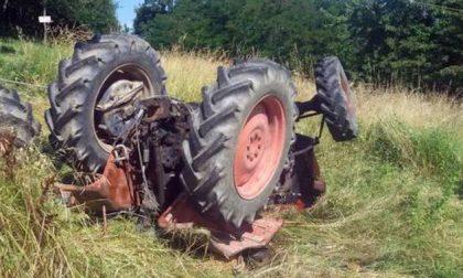 Schiacciato dal trattore, muore 59enne