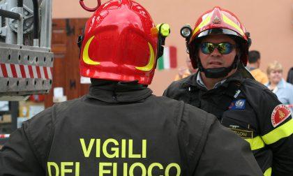 Appartamento in fiamme al quartiere Albarola