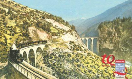 Trenino Rosso festeggia 10 anni di Patrimonio mondiale Unesco