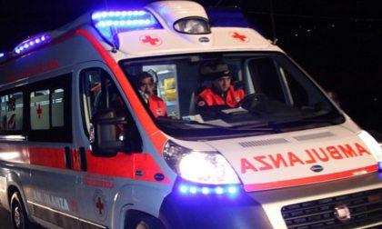 Scontro auto moto, soccorse due persone SIRENE DI NOTTE