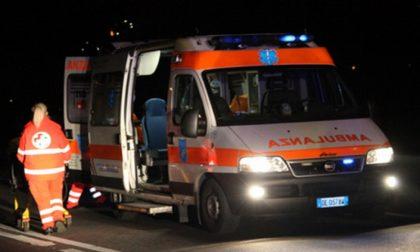 Incidente sul lavoro, soccorso 53enne SIRENE DI NOTTE