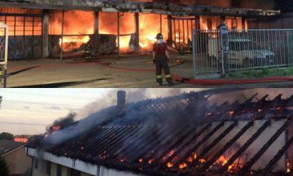 Due incendi nella serata di ieri fra Milanese e Comasco