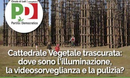 Cattedrale Vegetale presidio del Pd