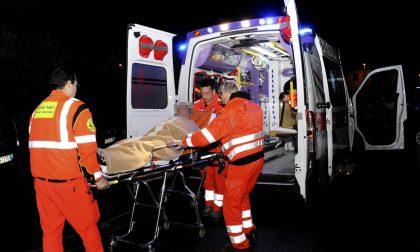 Incidente stradale a Crespiatica, soccorse tre persone SIRENE DI NOTTE