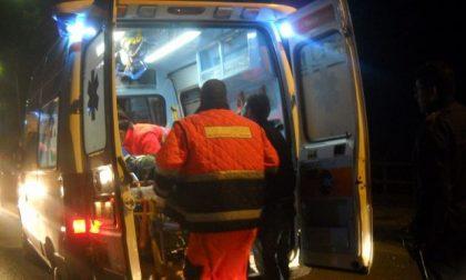 Incidente in moto SIRENE DI NOTTE