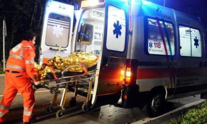 Caduta accidentale a Casalpusterlengo SIRENE DI NOTTE