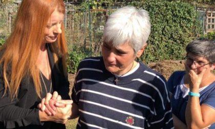 Michela Brambilla al gattile di Rho dopo l'incendio VIDEO