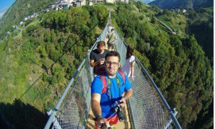 Inaugurato il Ponte nel Cielo… e il selfie è d'obbligo