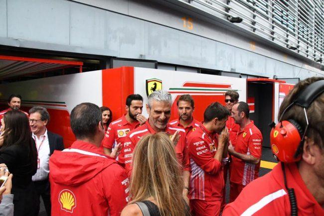 Hamilton sorprende le Ferrari a Monza