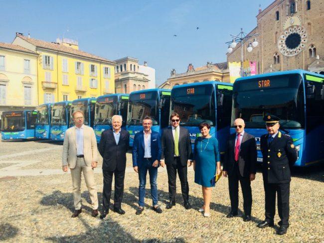 Trasporto pubblico Lodi: altri 10 nuovi mezzi