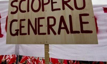Sciopero generale dei sindacati di base venerdì 26 ottobre