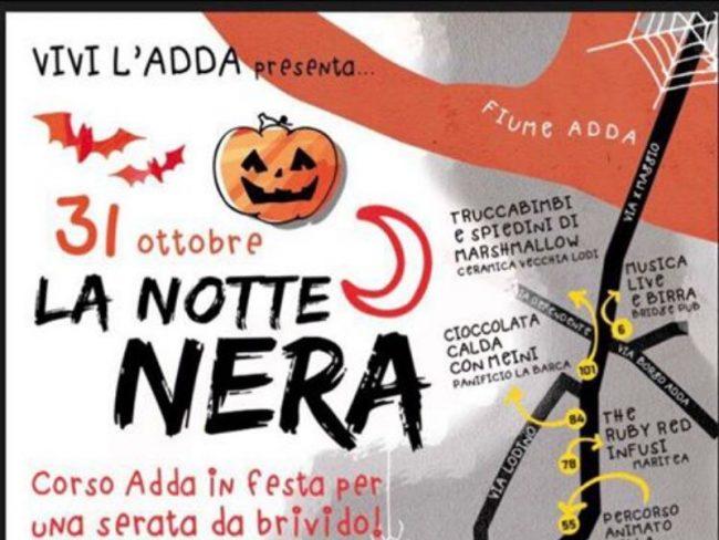 Eventi Halloween a Lodi: &#8220&#x3B;la Notte Nera&#8221&#x3B;