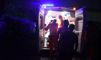 Cade dalla moto, 57enne in ospedale SIRENE DI NOTTE