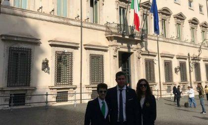 Giovani Leghisti Lodigiani in visita al Parlamento Italiano