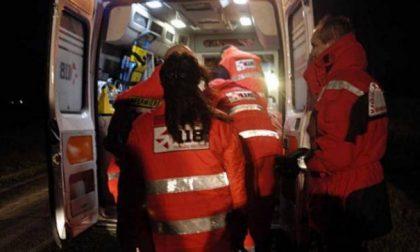 Cade dalla moto, soccorso 47enne SIRENE DI NOTTE