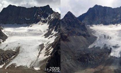 #10yearschallenge, la cruda realtà del cambiamento dei ghiacciai lombardi FOTO