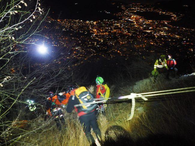 Alpinista di Lodi salvato sul Corno Medale: volo di 25 metri FOTO