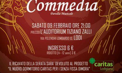 La Divina Commedia – Parodia Musicale: evento benefico per il nuovo dormitorio