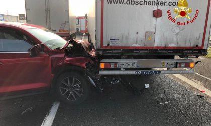 Maxi emergenza ospedali lodigiani dopo l'incidente in A1: lo stato dei feriti