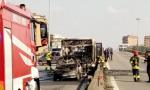 """Autobus in fiamme, lo sconcerto di Autoguidovie: """"Lavora con noi da 15 anni"""" VIDEO"""