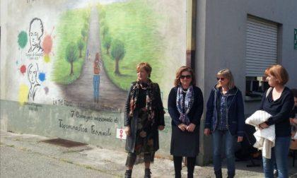 Alla Don Milani un murale per i diritti delle donne
