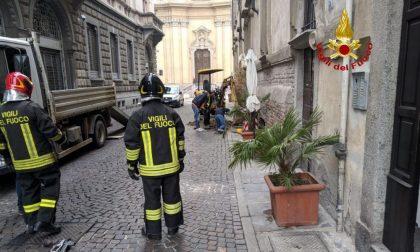 Fuga di gas in via Volturno, evacuata la via