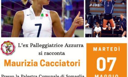 Maurizia Cacciatori arriva a Somaglia da Michela Monari