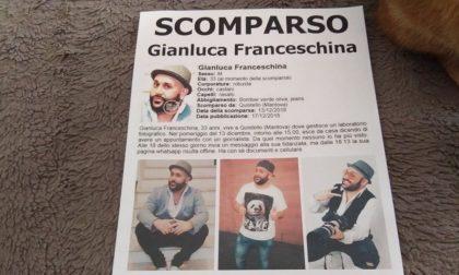 """Gianluca Franceschina scomparso, la compagna: """"Aiutatemi, sto impazzendo"""""""