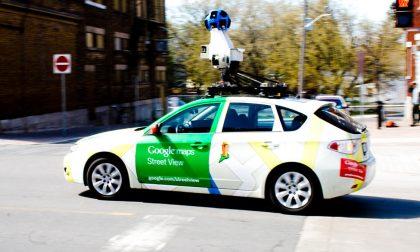 Incidente: Google street view car tamponata vicino a Piacenza