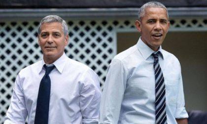 E' il giorno degli Obama da Clooney a Laglio