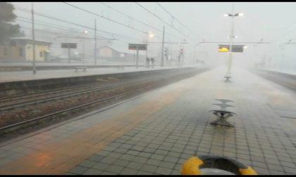 Maltempo, treni in ritardo sulla linea Milano – Verona