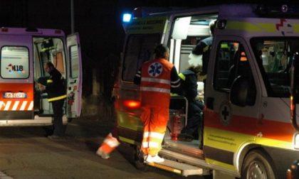 Brutta caduta in moto a Lodi, 45enne in ospedale SIRENE DI NOTTE