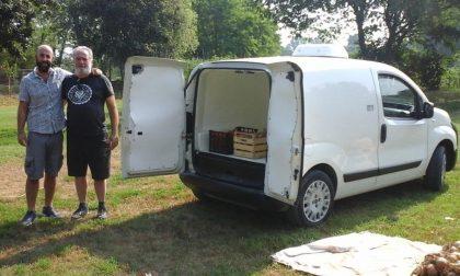 La Fondazione Lodi dona un furgone agli Orti del pellicano