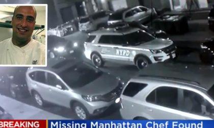 FERMATA UNA DONNA | Ritrovato morto lo chef italiano Andrea Zamperoni scomparso a New York