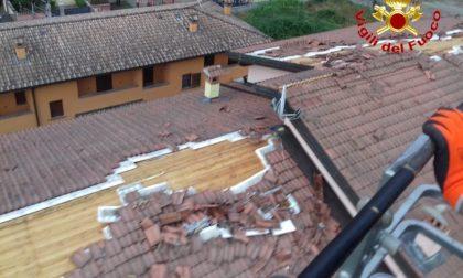 """I Vigili del Fuoco di Lodi alle prese con maltempo e case """"stegolate"""""""