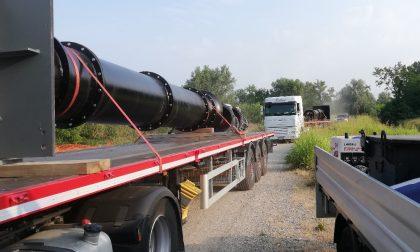 Installate tre pompe idrovore presso il Cavo Roggione