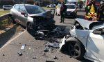 Brutto frontale su viale Milano, altri 3 feriti