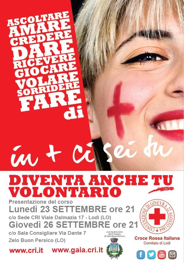 La Croce Rossa di Lodi apre i corsi e cerca nuovi volontari