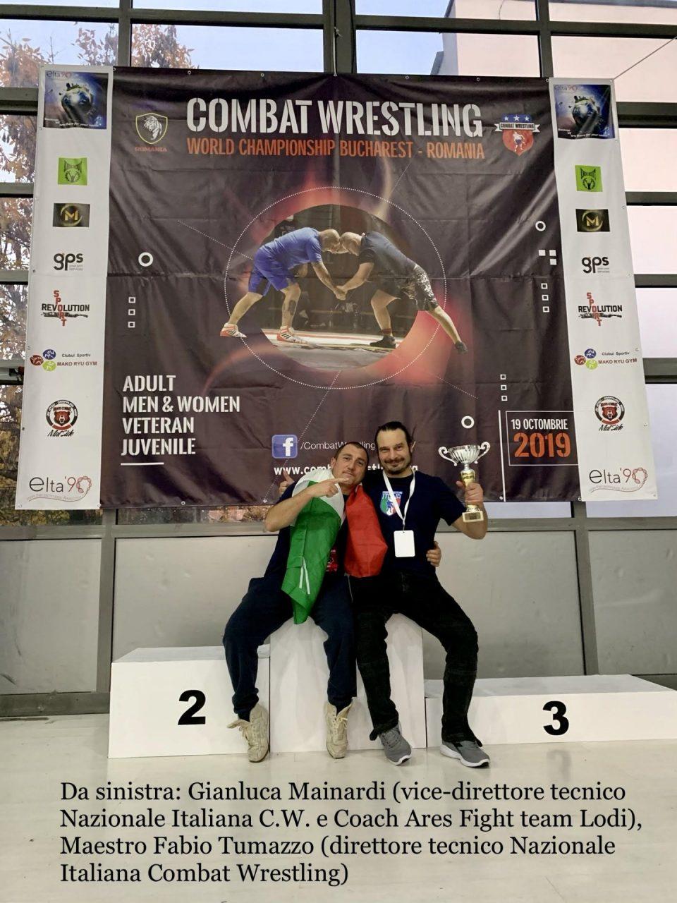 Campioni del mondo: tre oro e un argento per l'Ares Figh Team di Lodi