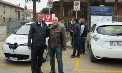 Nel lodigiano il car sharing è ecologico: auto elettriche per i cittadini