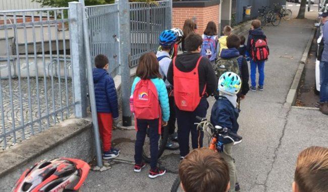 Torna Piedibus: attivato alla Don Gnocchi il percorso sicuro casa-scuola