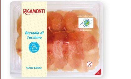 Ritirata dal mercato bresaola di tacchino Rigamonti