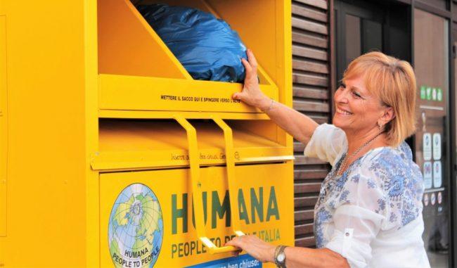 A Mairago arriva la raccolta di abiti usati di Humana