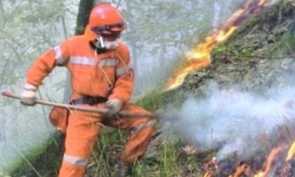 Al Parco Adda Sud ci si prepara al peggio con un'esercitazione antincendio boschivo