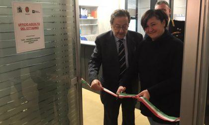 In Lombardia aperto il primo punto d'ascolto dell'Aler a Lodi, presente anche De Corato