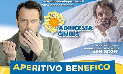 Aperitivo benefico con Alessandro Preziosi: il ricavato va alla neonatologia del Maggiore