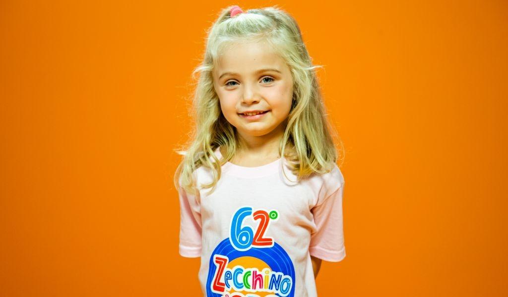 Francesca ha 5 anni, abita a Lodi e canterà alla 62esima edizione dello Zecchino d'Oro