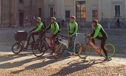 """L'idea lodigiana de """"Le Lippe"""": consegne in bici nel rispetto dell'ambiente e del lavoratore"""