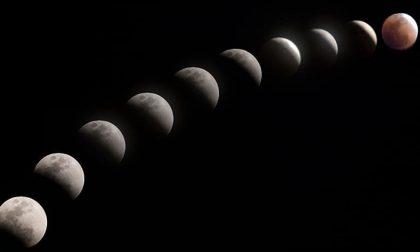 Eclissi parziale di luna oggi, venerdì 10 gennaio 2020